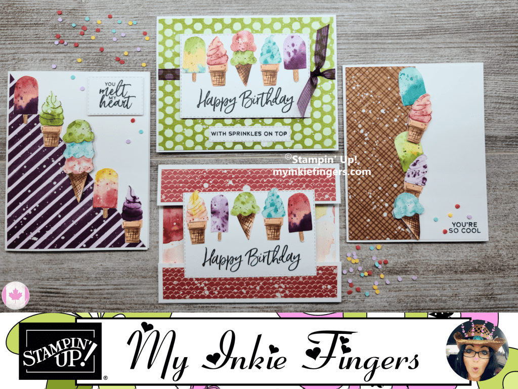 Ice Cream Corner Suite Class All Cards My Inkie Fingers