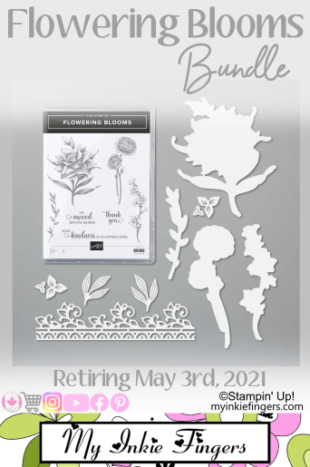 Flowering Blooms Stamps Stampin' Up - My Inkie Fingers