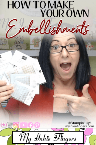 How to make your own Enamel Dots   How to make your own Embellishments   DIY Enamel dots