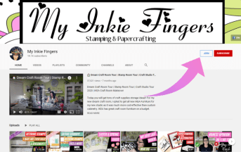 Join My Inkie Fingers YouTube Channel