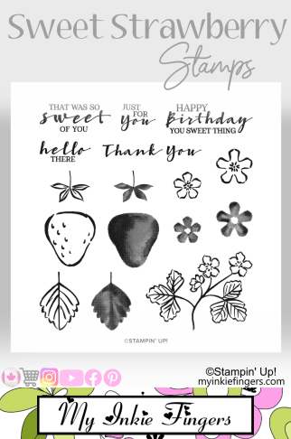 Stampin' Up! Sweet Strawberry Stamps