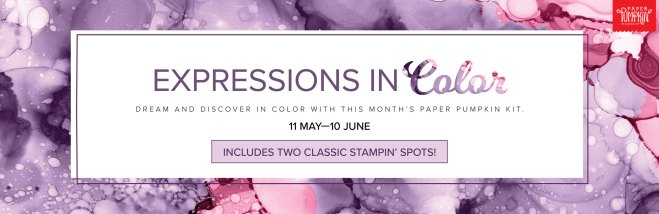 June 2021 Expressions In Color Paper Pumpkin Kit