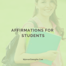 %name Tips on Using Affirmations​ and Motivational Words