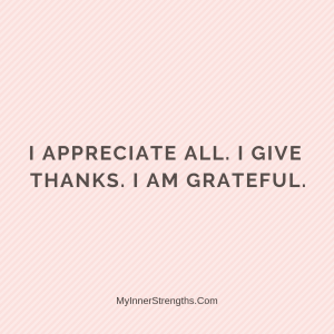 %name Gratitude Affirmations 30 | My Inner Strengths