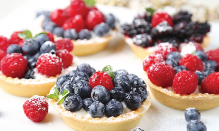Drooling Mixed Berries Yogurt Tart with Greek Yogurt | Farmer Union