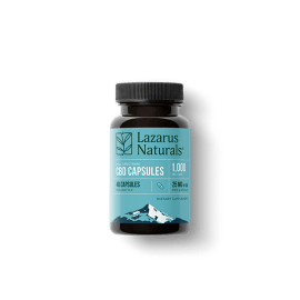 25mg CBD Capsules from Lazarus Naturals