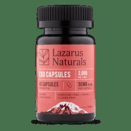 Lazarus Naturals Super Potency CBD Pills 50mg per pill!