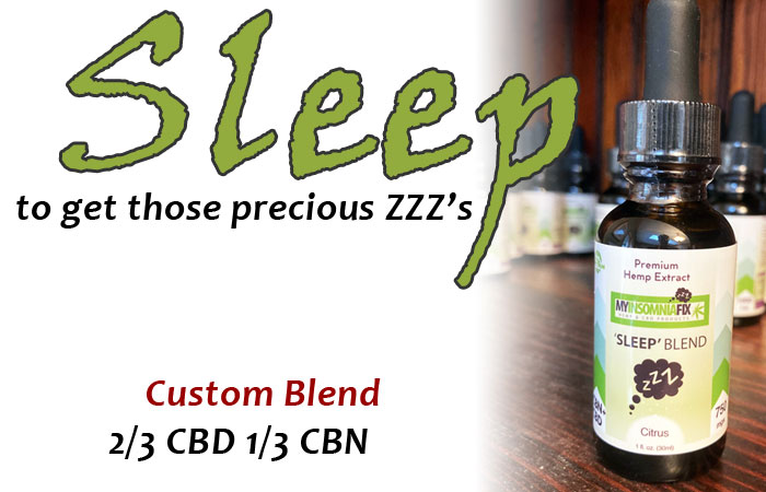 CBD Oil - Sleep Blend