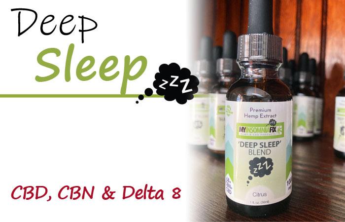 MIF Deep Sleep Blend - CBD, CBN and Delta 8