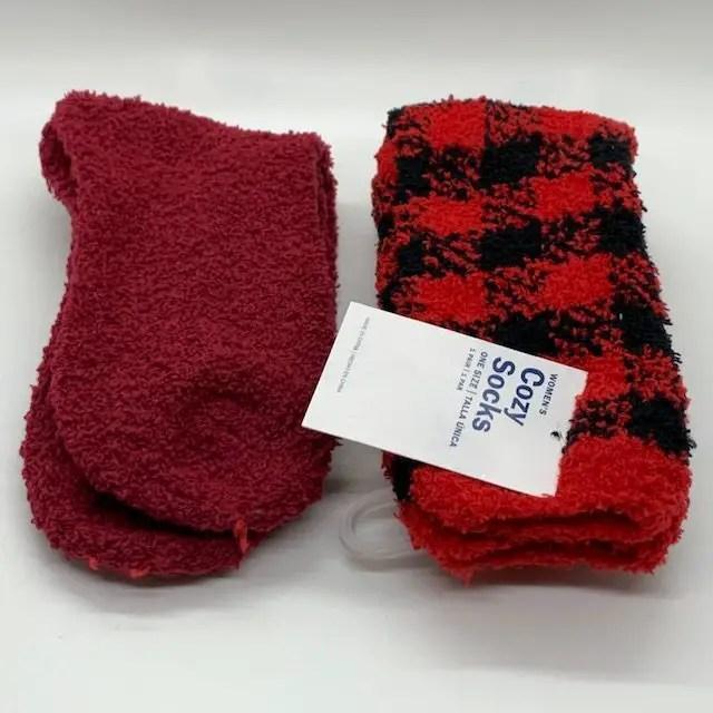 socks for Christmas Care package