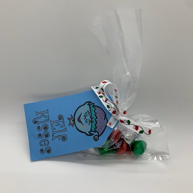 Elf Kisses, the perfect item for a Christmas Care package