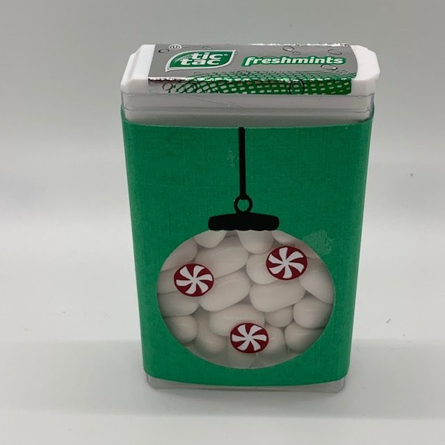 Tic Tacs for Christmas Care Package