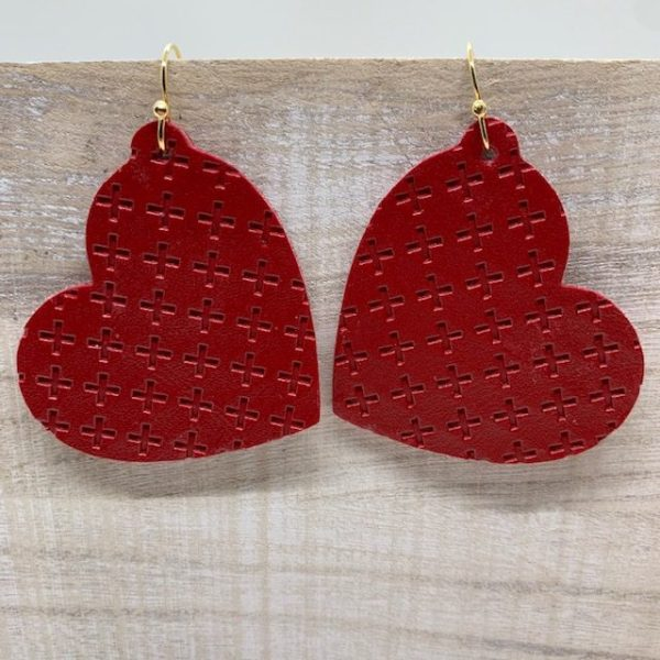 Valentine's Day Earrings DIY