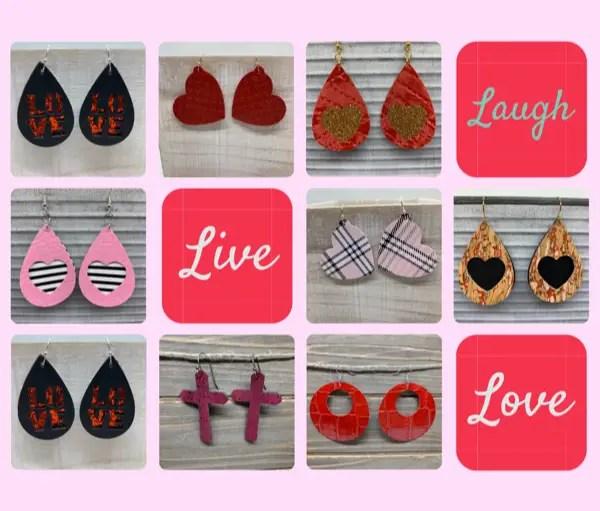 Valentine's Day Earrings: 40 DIY Ideas
