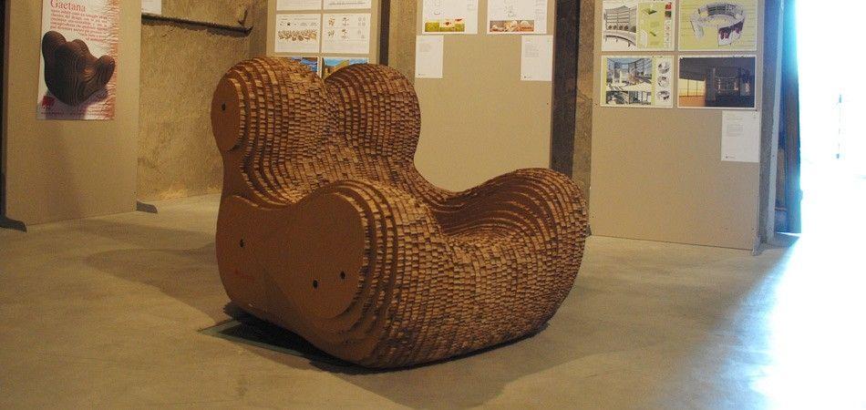 frank gehry chair revolving repair in lahore arredare con il cartone. - architettura e design a roma