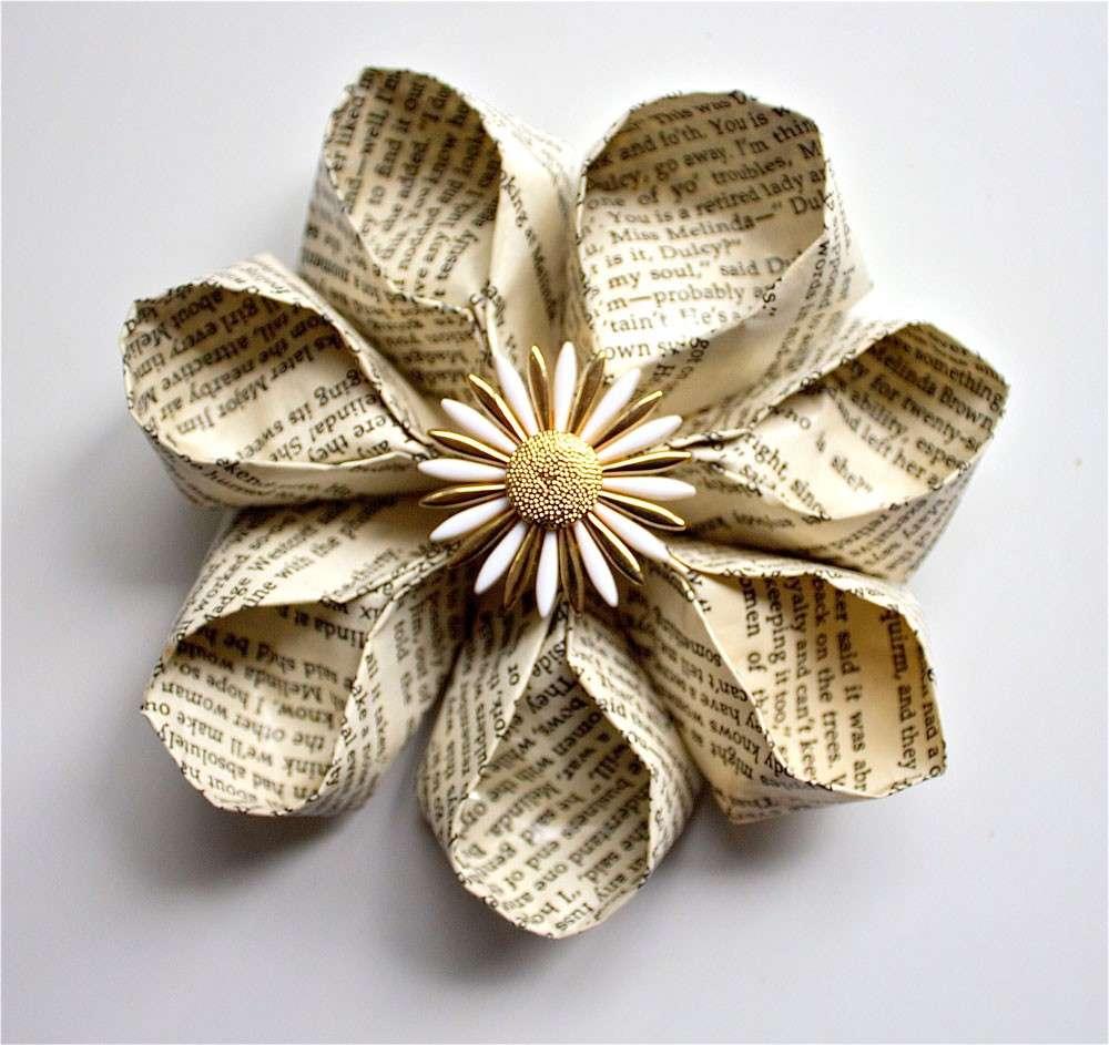 Nuova tendenza per matrimoni e interior decr paper flowers  Architettura e design a Roma