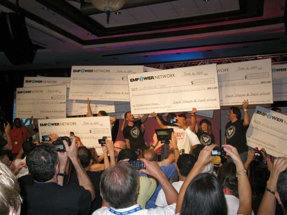 empower network paycheck