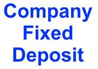 Latest interest rates of company FD (Fixed deposits)-Apr-13