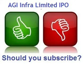 AGI Infra Limited IPO