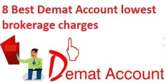 Best Demat Account lowest brokerage charges
