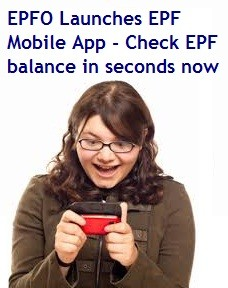 EPFO Mobile App-Check EPF Balance and download passbook in seconds