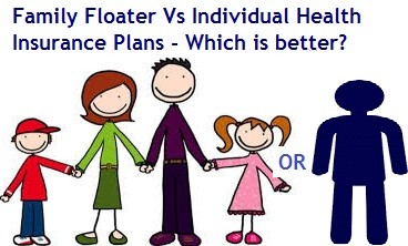 Family Floater Vs Individual Health Insurance Plans