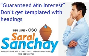 SBI Life Saral Sanchay Insurance Plan Review