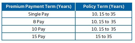 HDFC Life Click 2 Retire-Policy and Premium payment