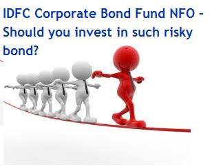 IDFC Corporate Bond Fund NFO