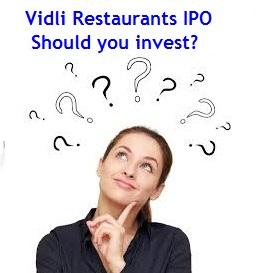 Vidli Restaurant IPO Review