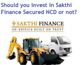 Sakthi Finance NCD April-May-2016