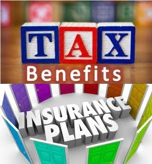 Tax benefits from various insurance plans in India