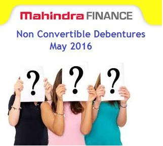 Mahindra Financial Services NCD-May-2016 Review
