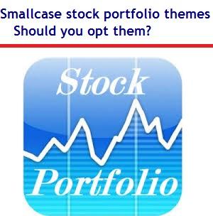 Smallcase stock portfolio themes - Should you opt them