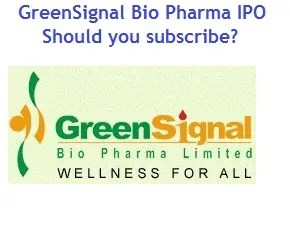 GreenSignal Bio Pharma IPO Review