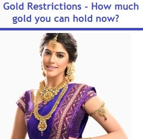 Gold Restrictions - How much gold you can hold now in 2016