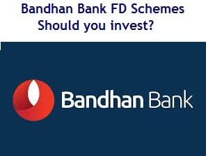 Bandhan Bank Fixed Deposit Schemes – Should you invest-min