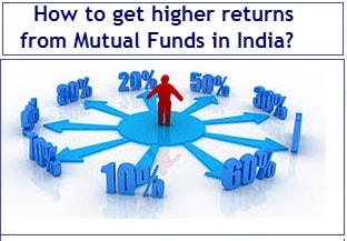 How to get higher returns from Mutual Funds in India
