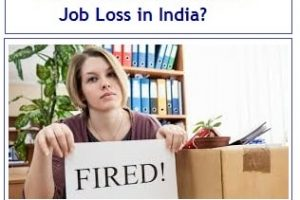How to Survive in case of Job Loss in India?