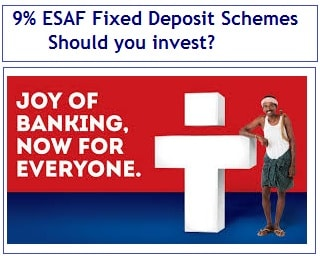 ESAF Fixed Deposit Schemes - Should you invest