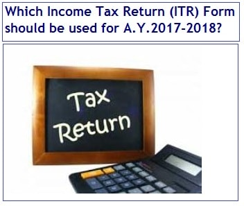 New and Revised ITR Forms-FY-2016-17, AY2017-2018-Rev