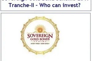 Sovereign Gold Bond Scheme July 2017 Tranche-II – Who can invest?