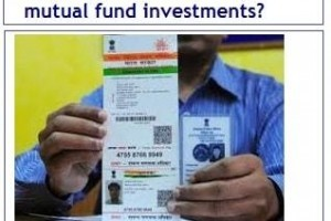 How to link your Aadhaar card to mutual fund investments?