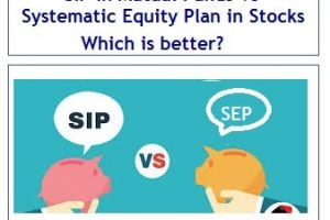 SIP in Mutual Funds Vs Systematic Equity Plan in Stocks – Which is better?