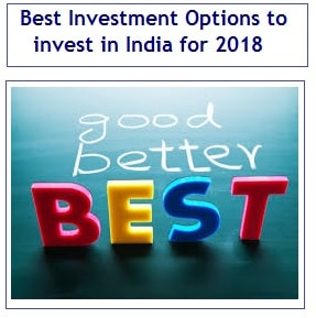 Best Investment Options to invest in India for 2018-min
