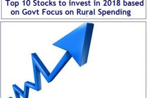 Top 10 Stocks to invest in 2018 which benefits from Govt Focus on Rural Spending