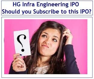 HG Infra Engineering IPO Review - Should you invest