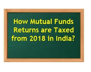 How Mutual Funds Returns are Taxed from 2018 in India-min