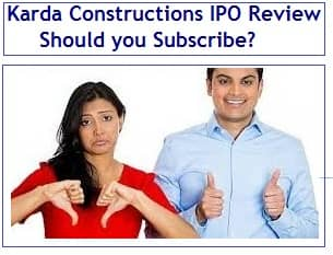 Karda Construction IPO Review