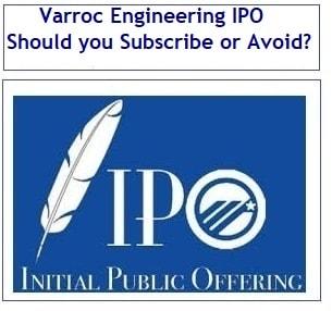 Varroc engineering ipo subscription status